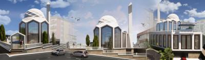 Esentepe Camii inşaatı başladı